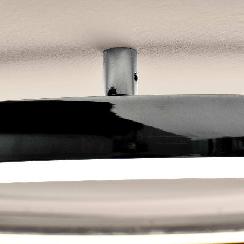 s.LUCE LED Ring 100 Wand & Decke Dimmbar Chrom 11