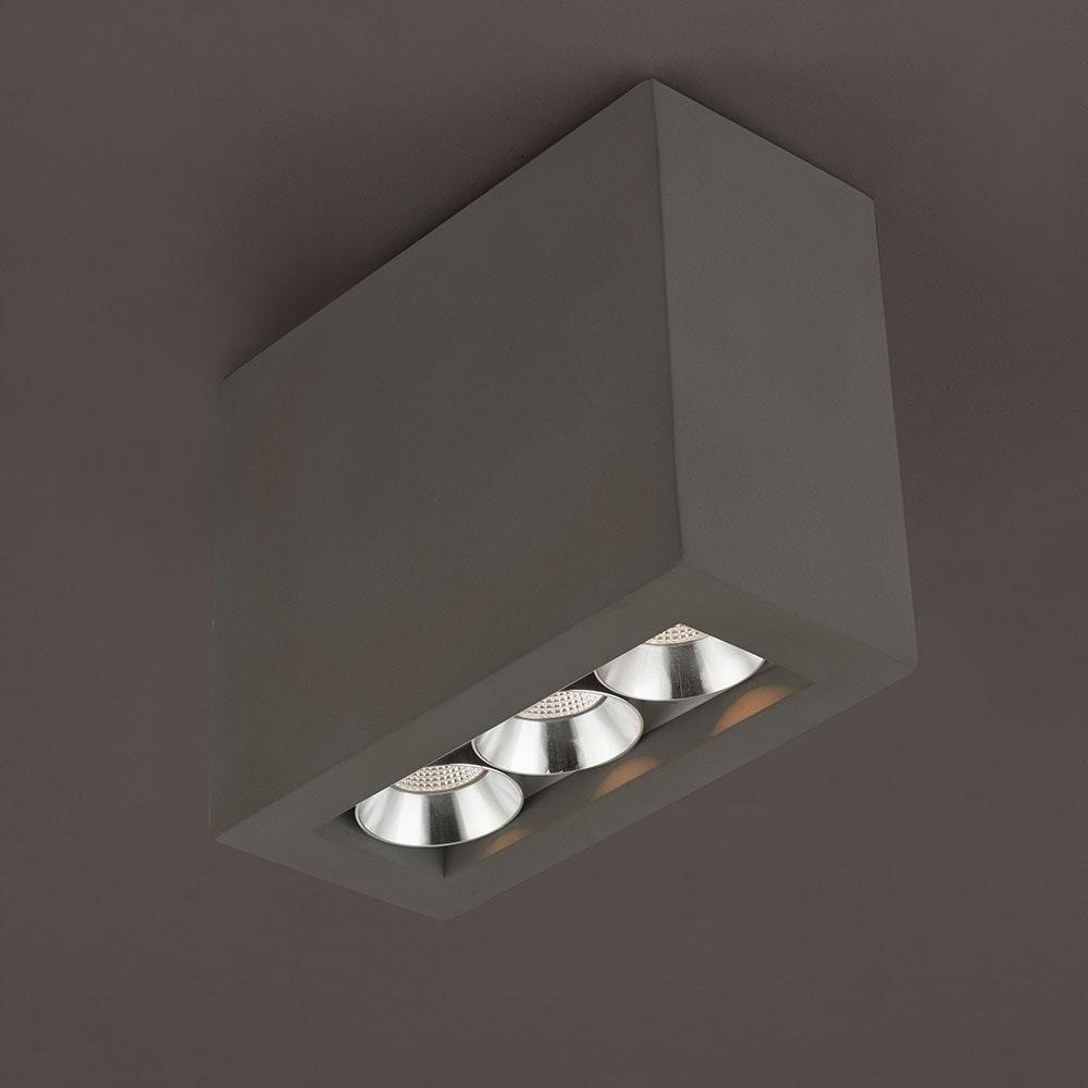 LED Deckenleuchte Timo Grau 2