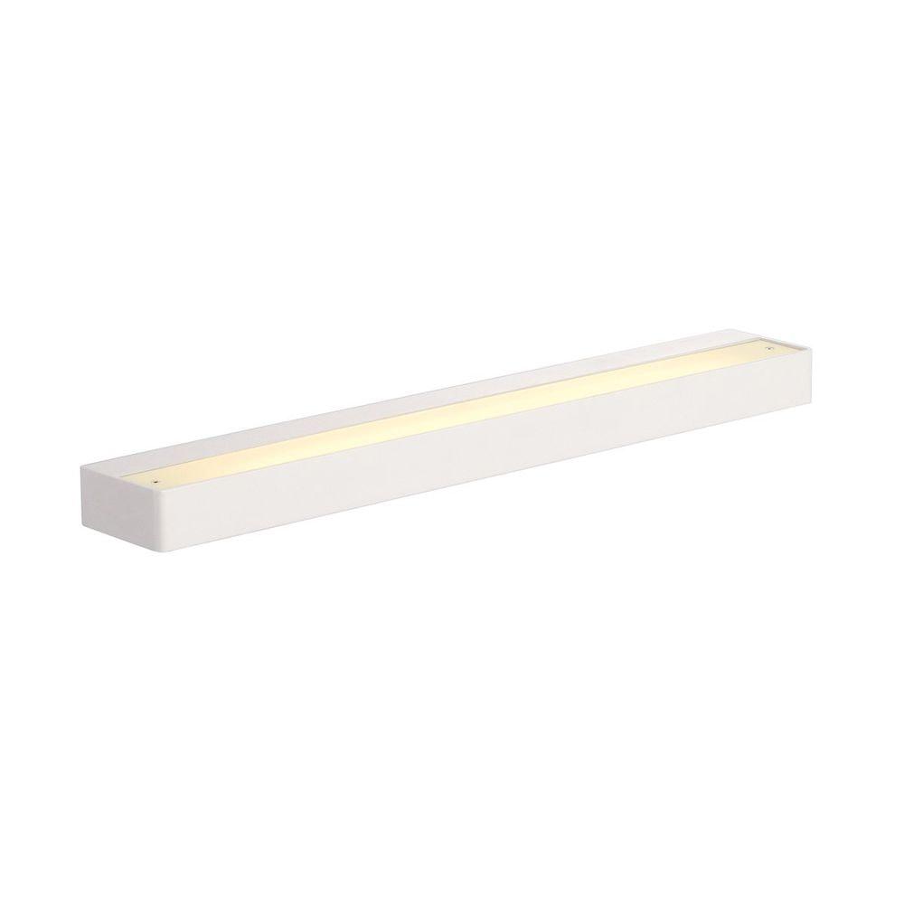 SLV Sedo LED 14 Wandleuchte eckig Weiß Glas satiniert