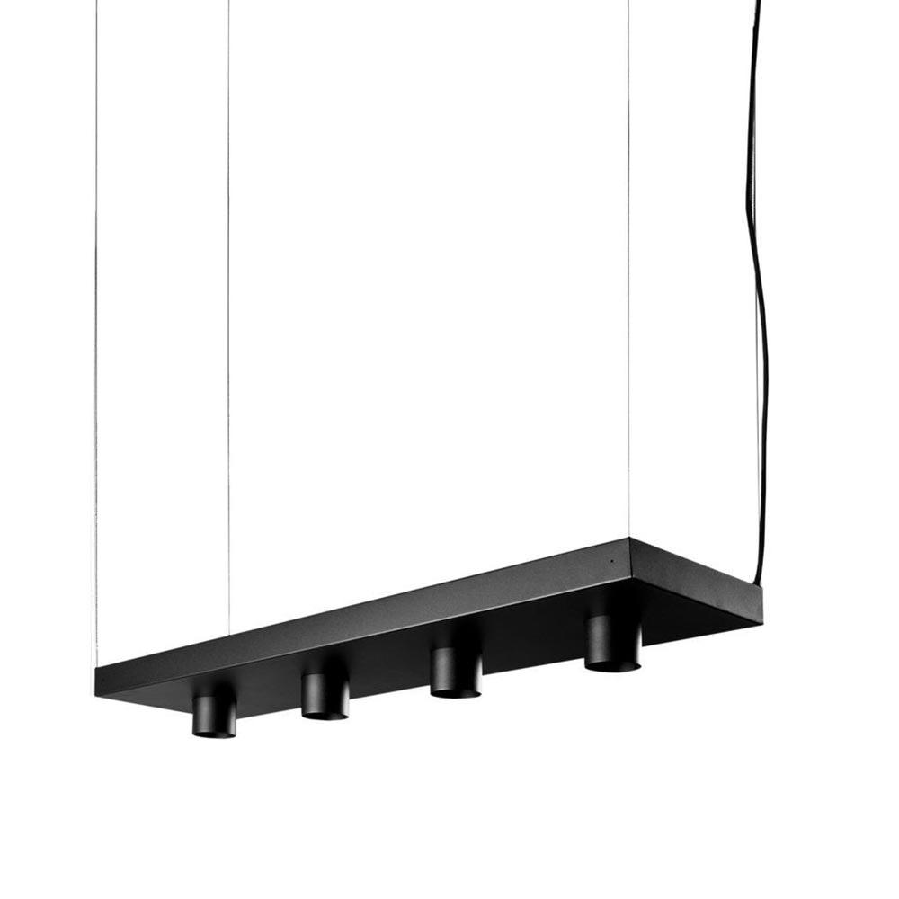Licht-Trend dekorative Pendellampe Plant in Schwarz 2