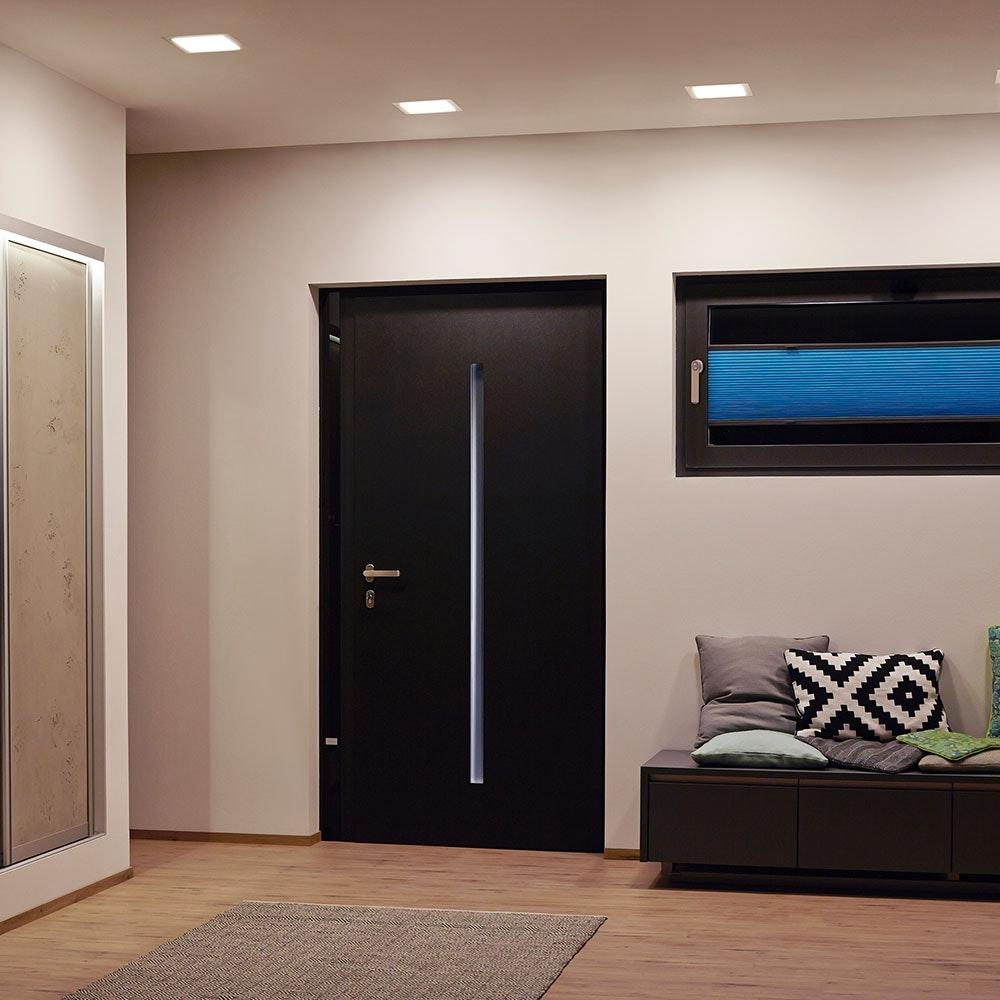 LED-Panel Einbau 1200 Lumen Ø 16,5cm IP44 10