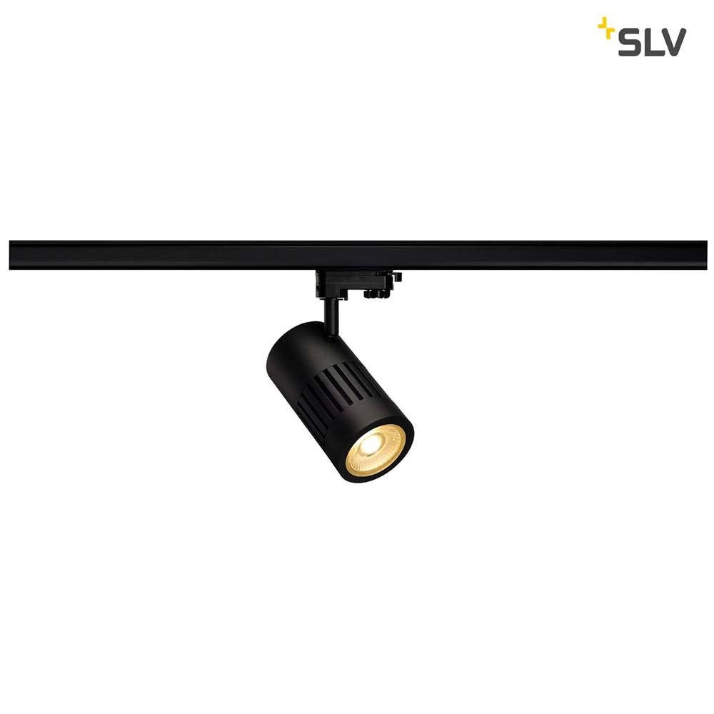 SLV Stuctec LED Strahler für 3Phasen-Stromschiene 24W 3000K 36° Schwarz 1