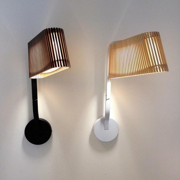 LED Wandleuchte Owalo 7030 aus Holz 47cm 2