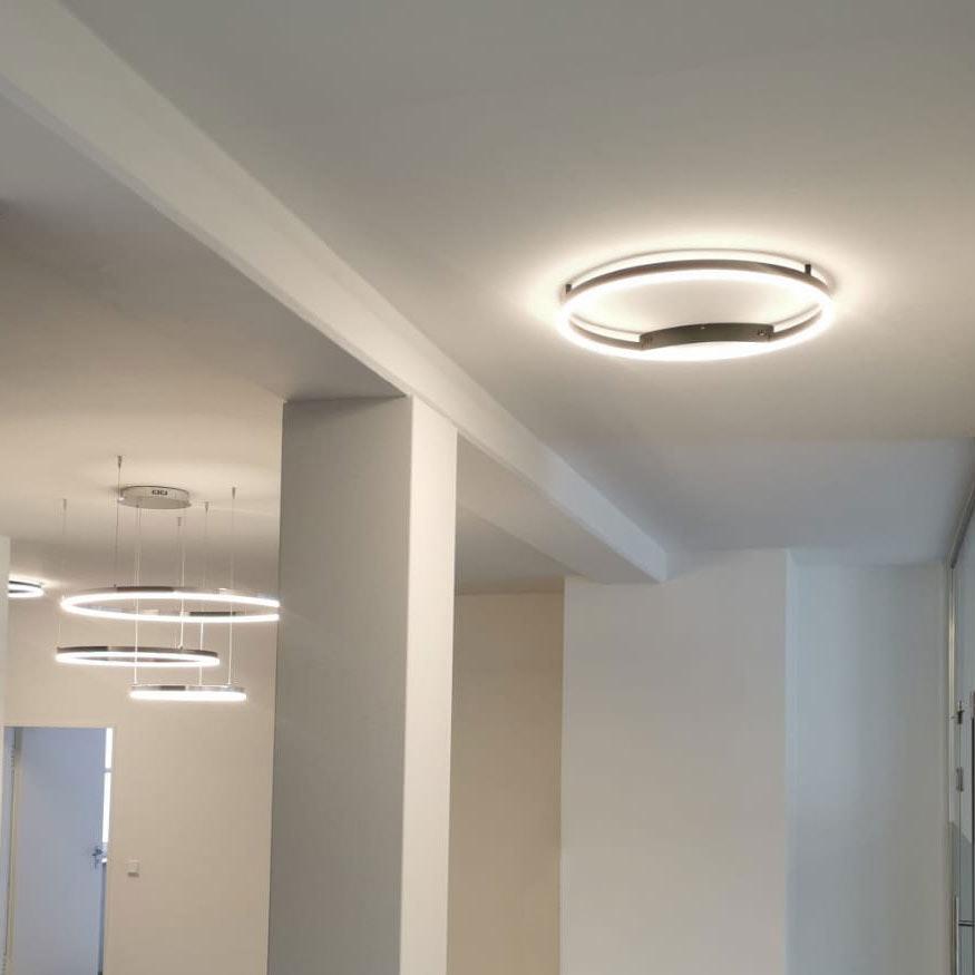 s.LUCE Ring 40 LED Decken & Wandlampe Dimmbar 7