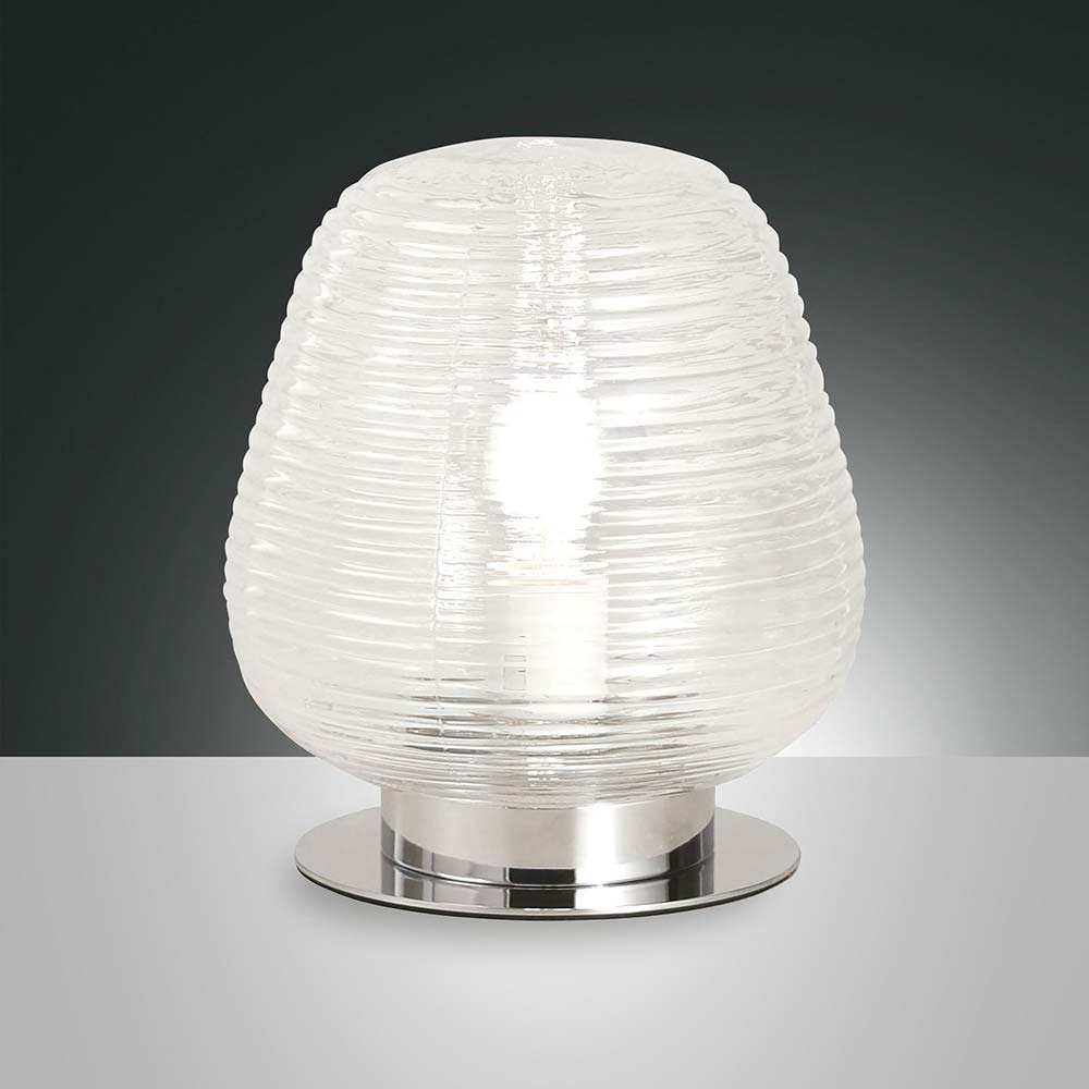 Fabas Luce Tischlampe Cora Transparent 1