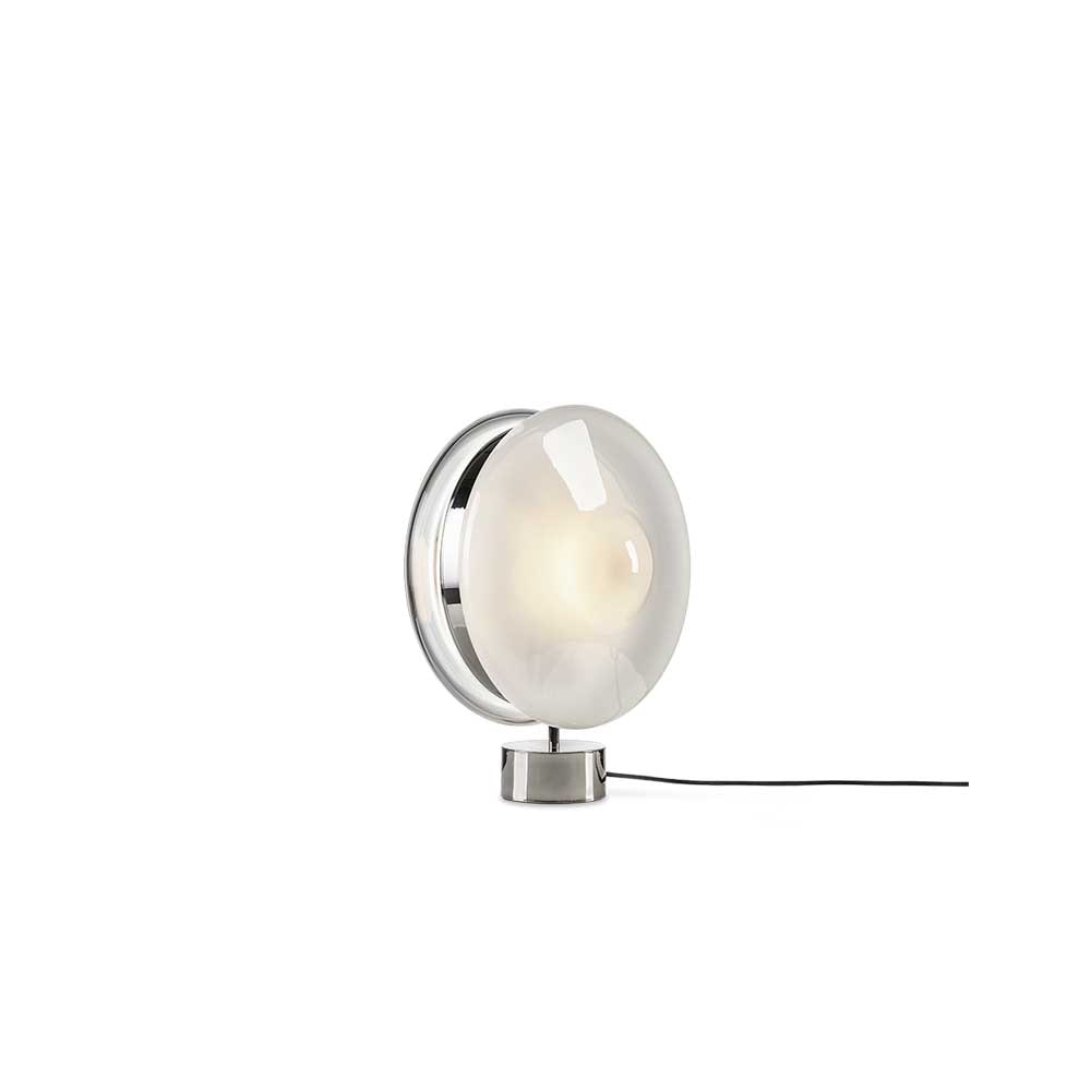 Bomma Glas-Tischlampe Orbital Ø 36cm 6