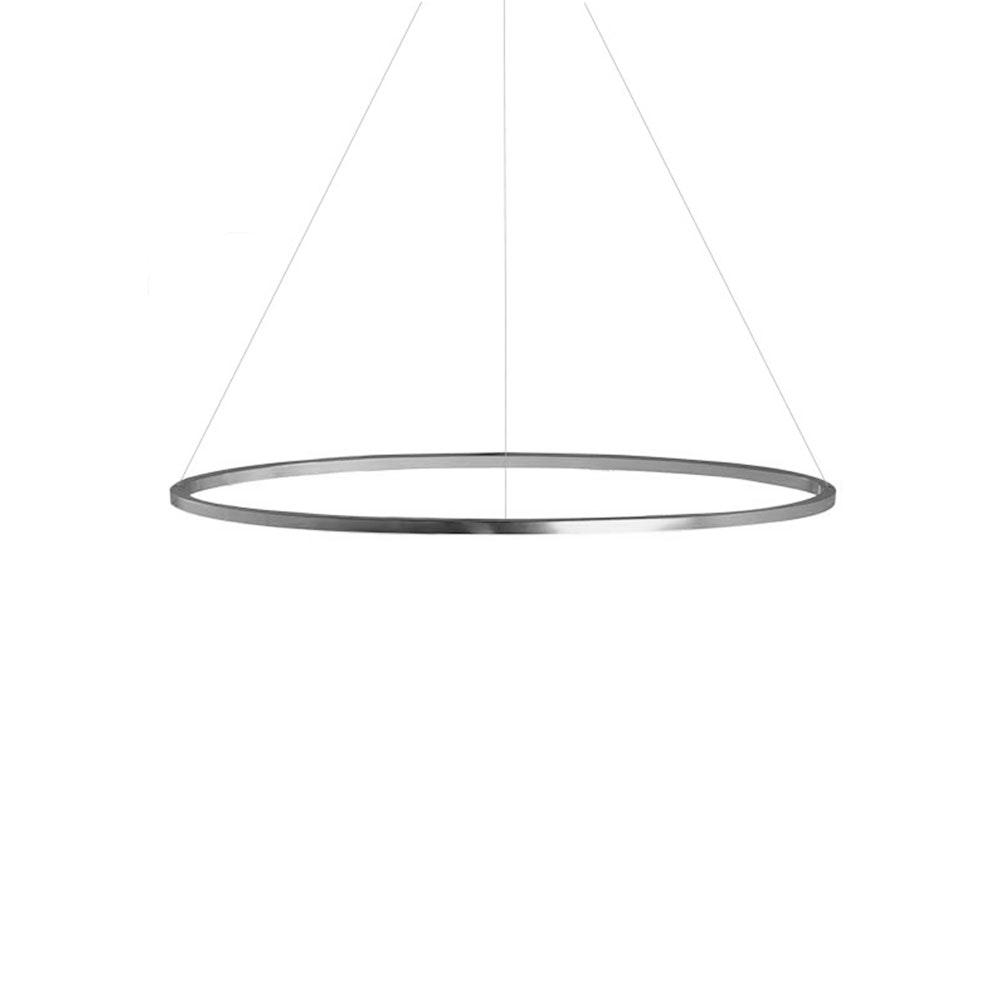 Nemo Ellisse Major Down LED Pendelleuchte 133x70cm direkt 7
