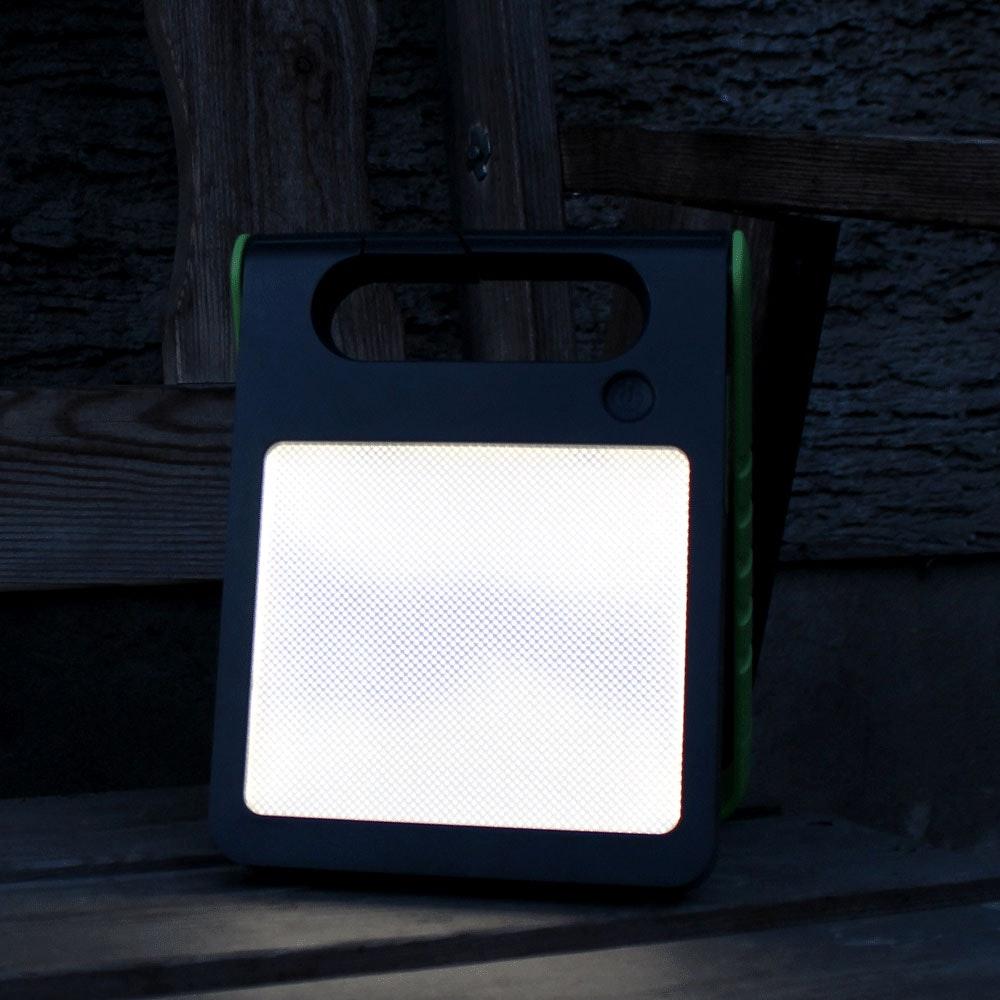 Mobile LED Solarlampe Padlight IP44 Grün 4