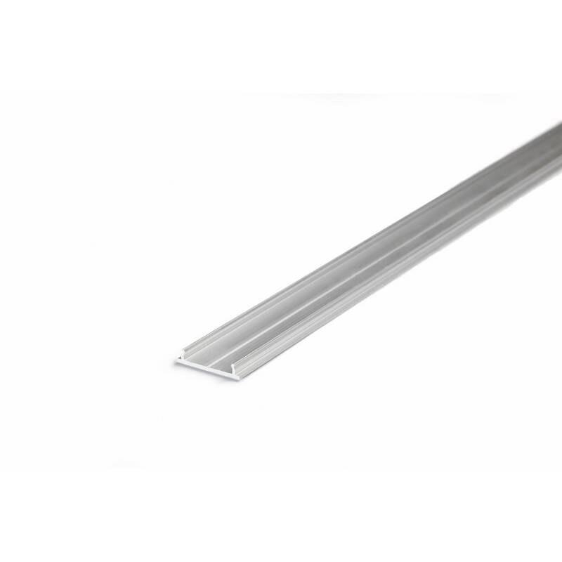 XL-Kühlprofil 200cm Aluminium Roh für LED-Strips