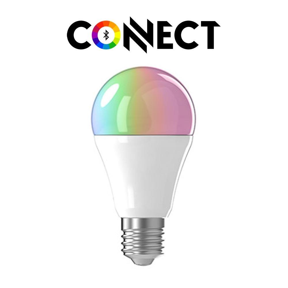 Connect E27 LED Leuchtmittel 806lm RGBW CCT