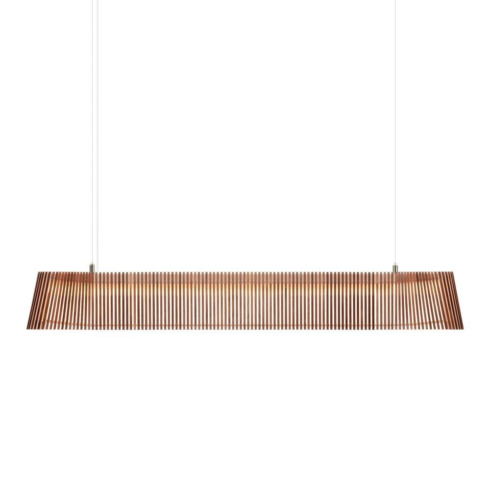 LED Pendelleuchte Owalo 7000 aus Holz 100cm 2