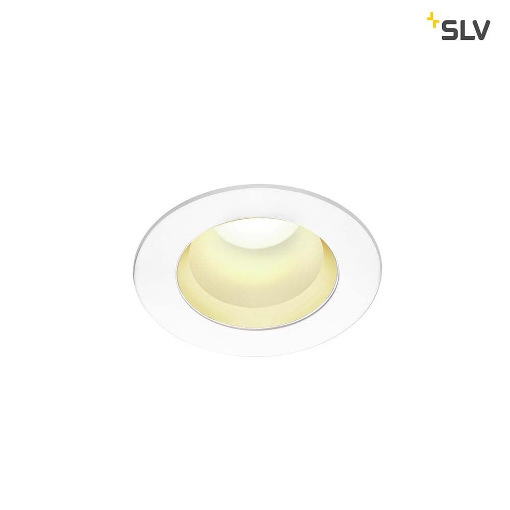 SLV Rilo LED Einbauleuchte Weiß, Chrom 420/450lm 2