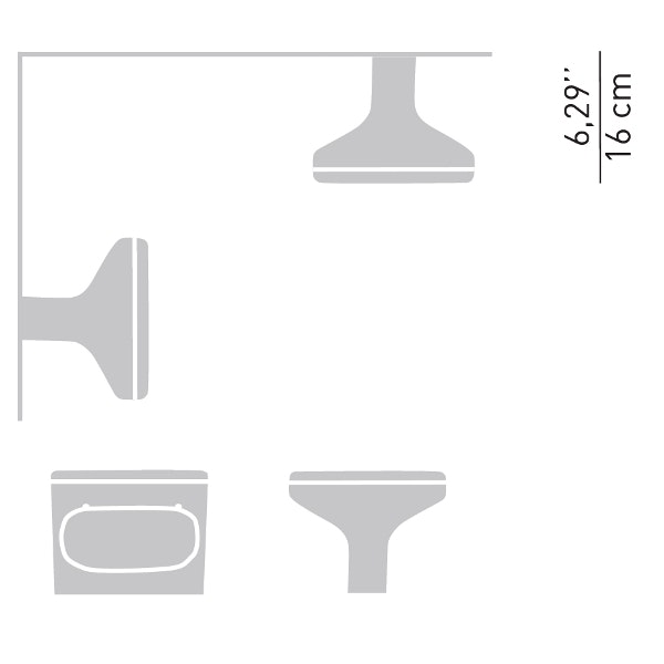 Luceplan Außenlampe Sky für Wand, Boden oder Decke thumbnail 3