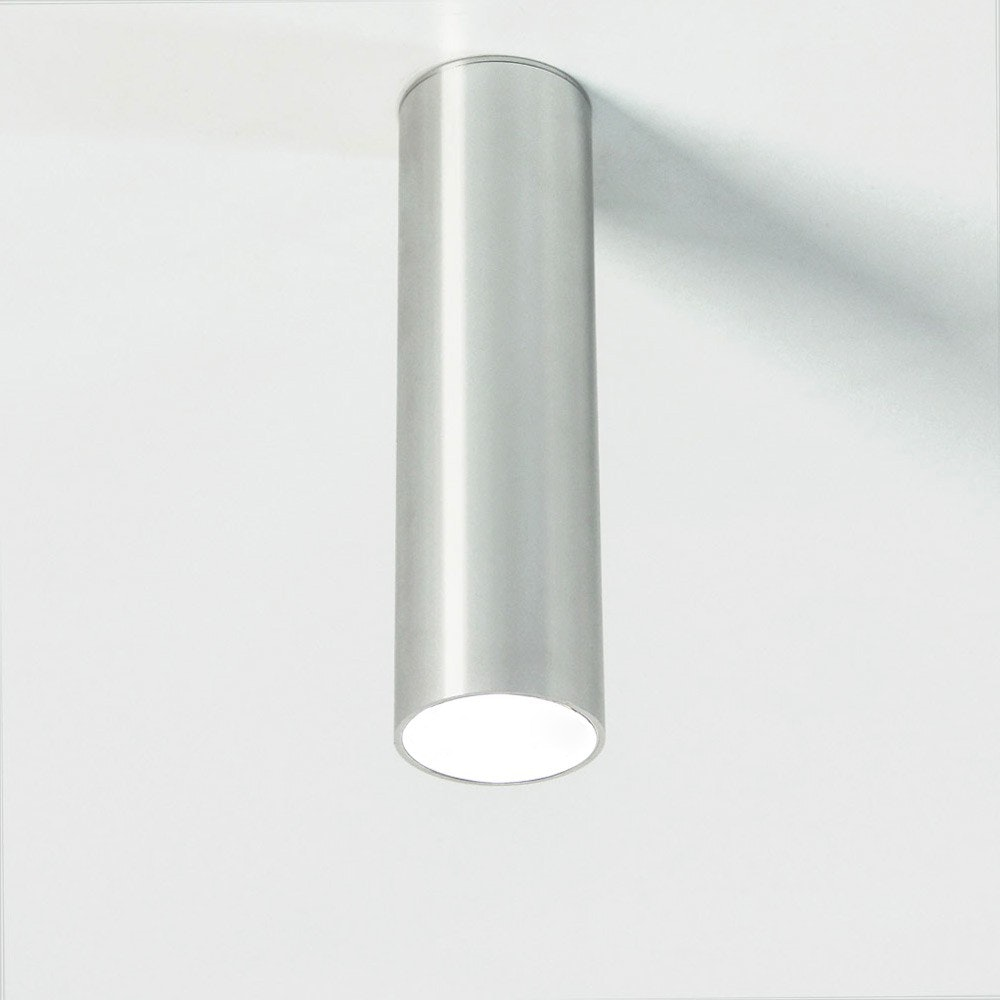 s.LUCE Pole M Aufbau-Deckenleuchte 20cm Alu-Glänzend 3