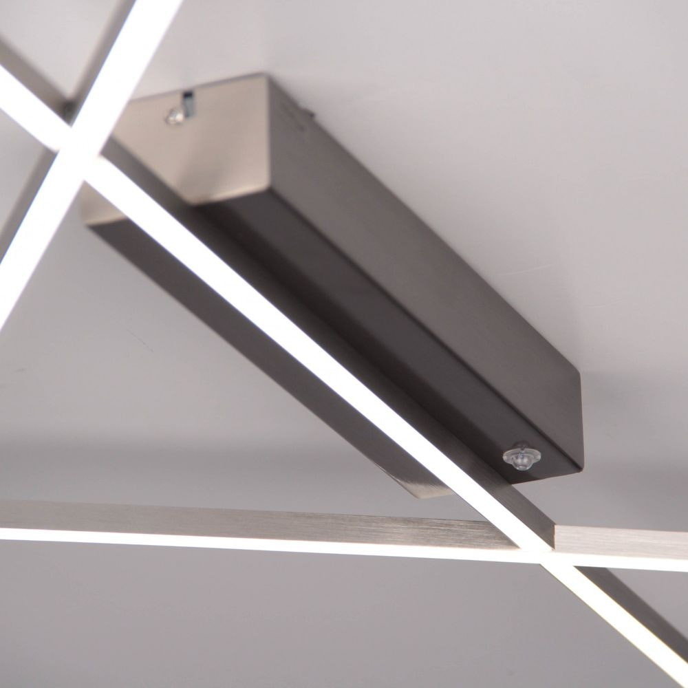 Stick 2 LED Deckenleuchte 57x 33cm Alu-matt 2