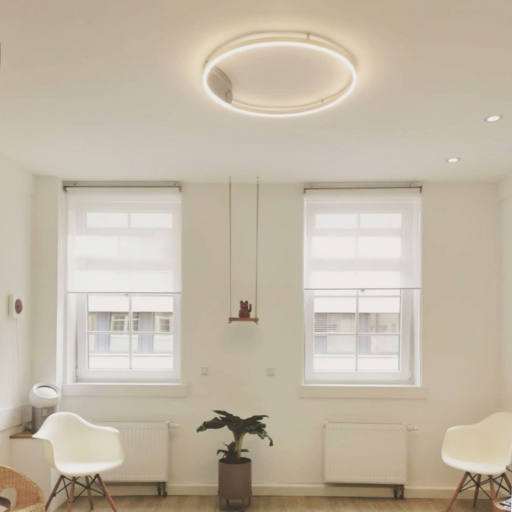 s.LUCE Ring 40 LED Decken & Wandlampe Dimmbar 13