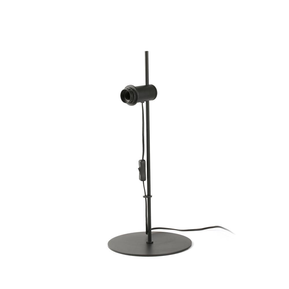 Lupe Tischlampe (ohne Schirm) Schwarz