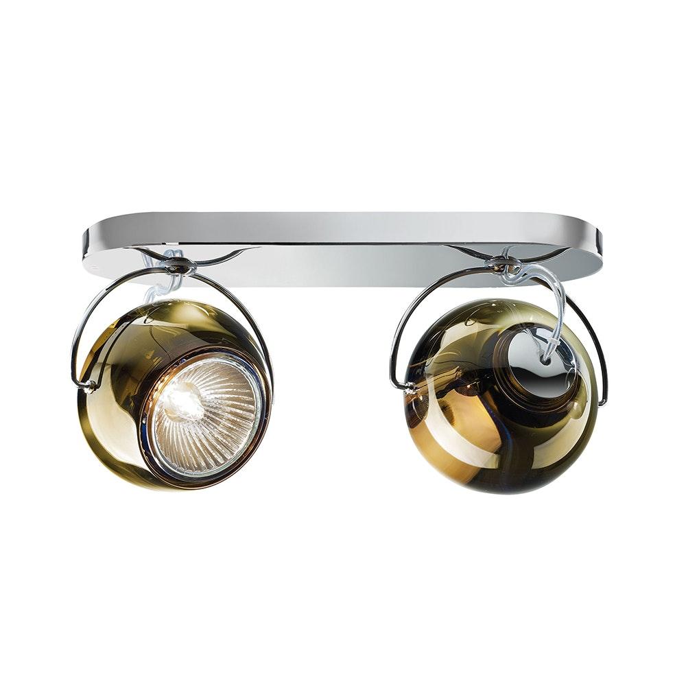Fabbian Beluga Wand- & Deckenlampe 2-flammig 5