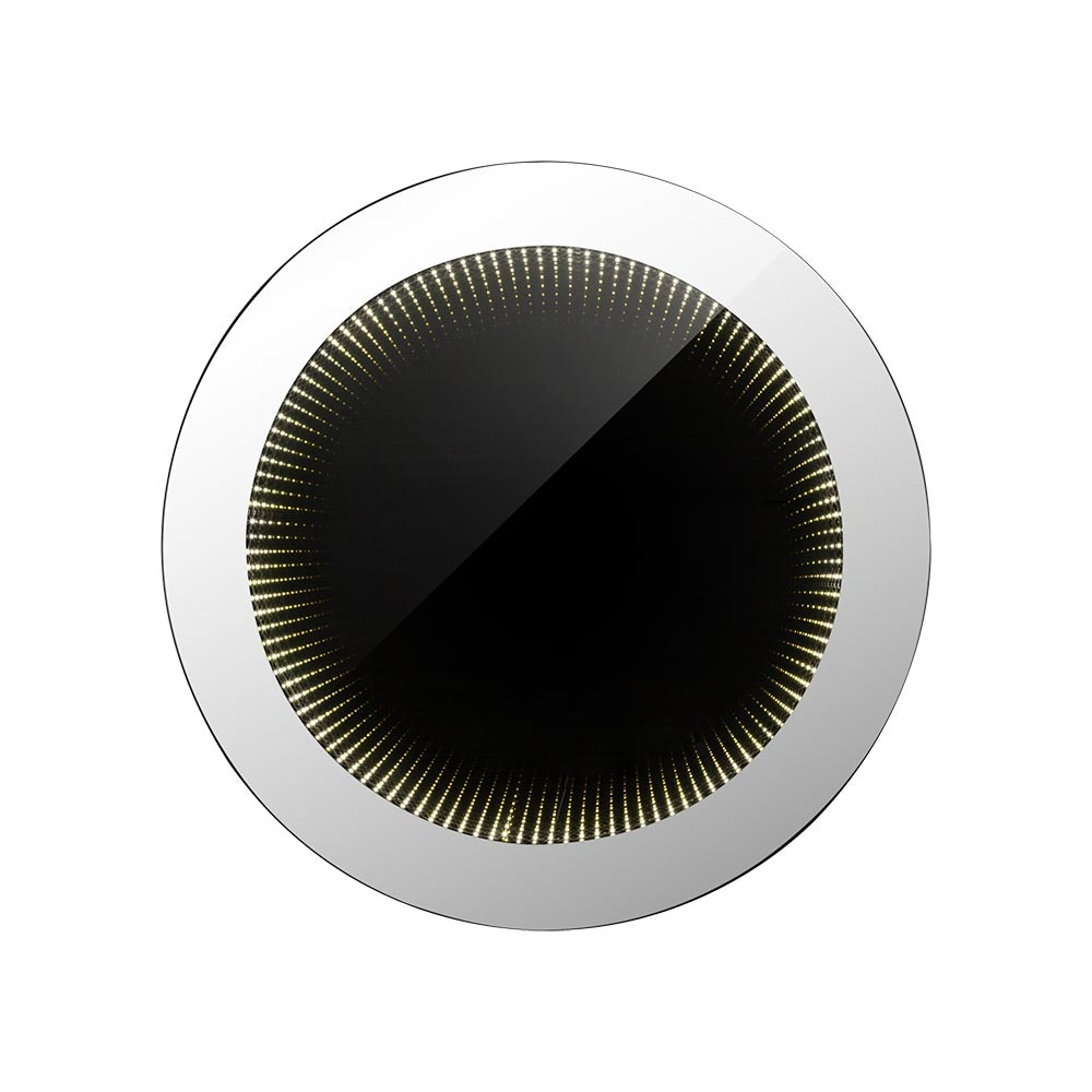 Licht-Trend LED Badspiegel Itaja Ø45cm mit Lichteffekt IP44 2