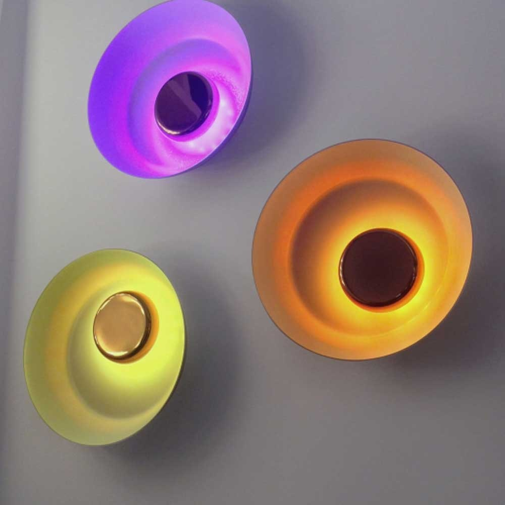 Kundalini LED-Wandleuchte Dawn Ø 105cm RGBA Dimmbar 2