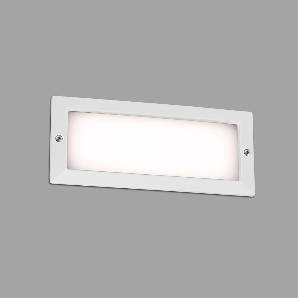 LED Wand-Einbauleuchte STRIPE-2 3000K IP54 Weiß