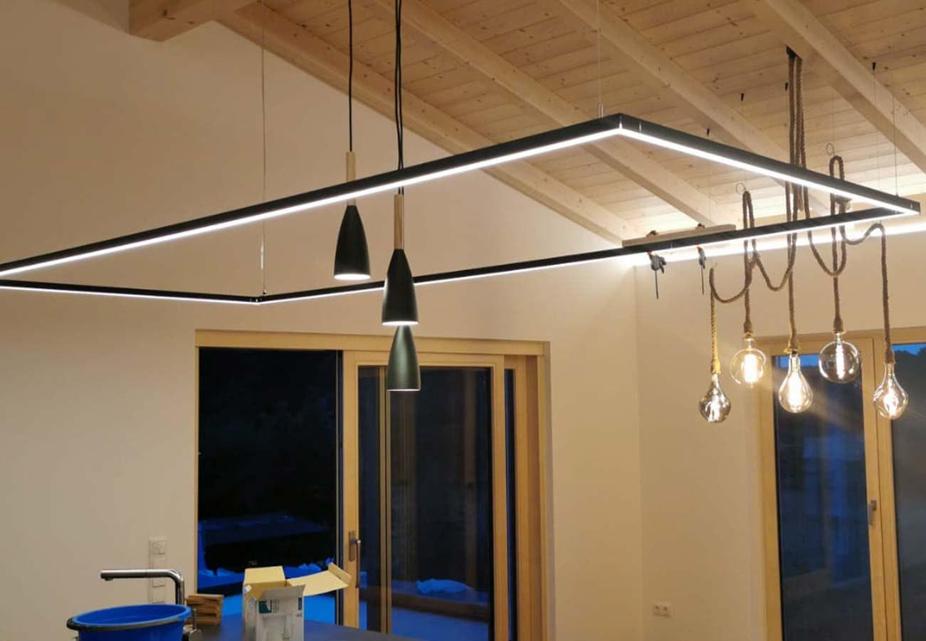 LED Küchenprofil