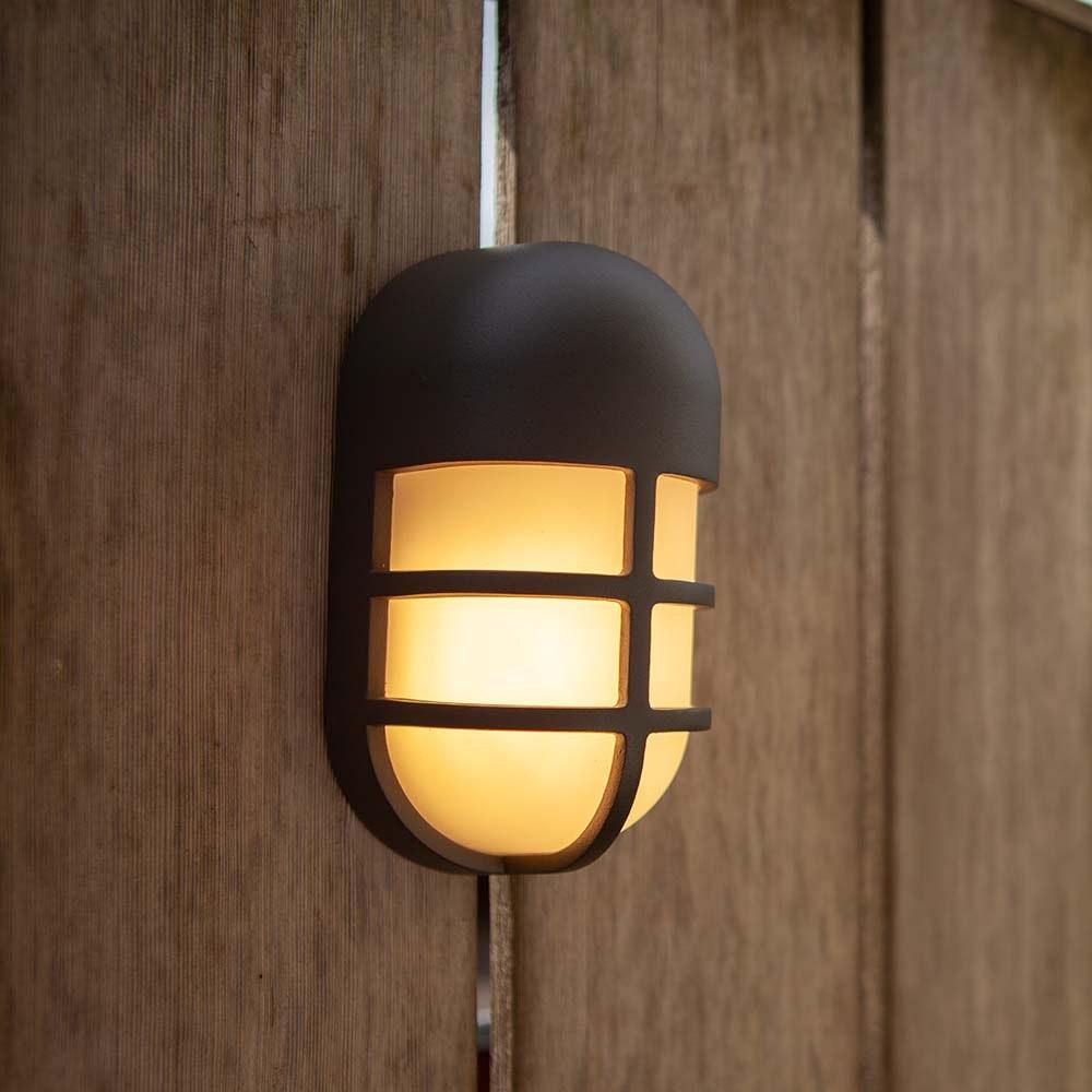 LED-Außenwandleuchte Bullo Anthrazit 3