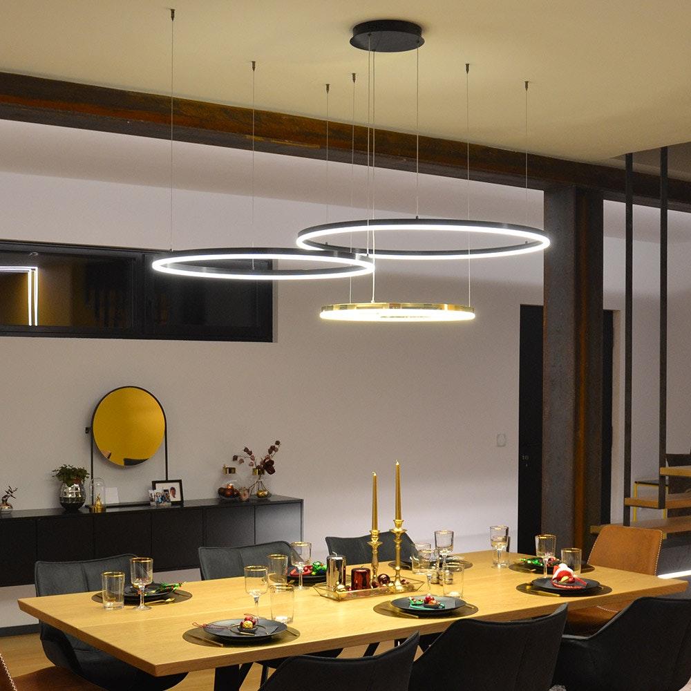 s.LUCE Ring 60 LED-Hängeleuchte Dimmbar 1