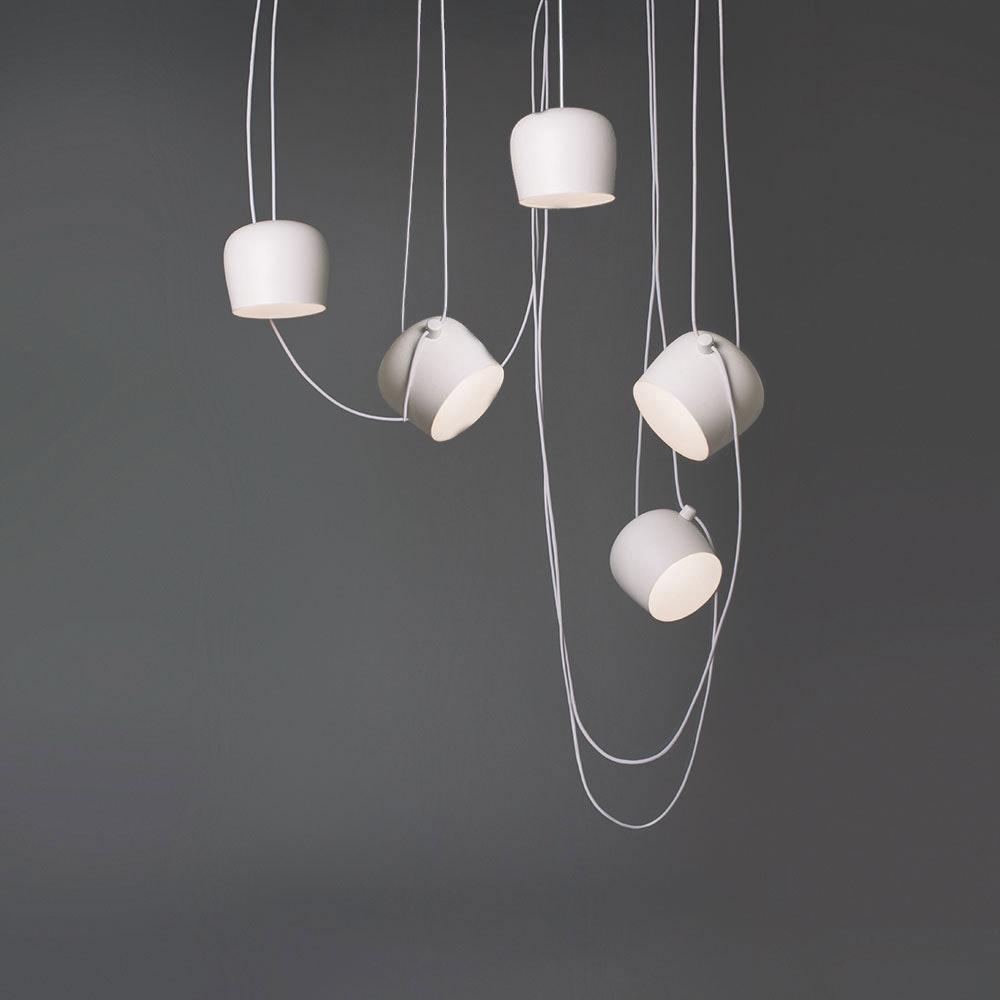 FLOS Aim small mehrfach LED-Pendelleuchte 10