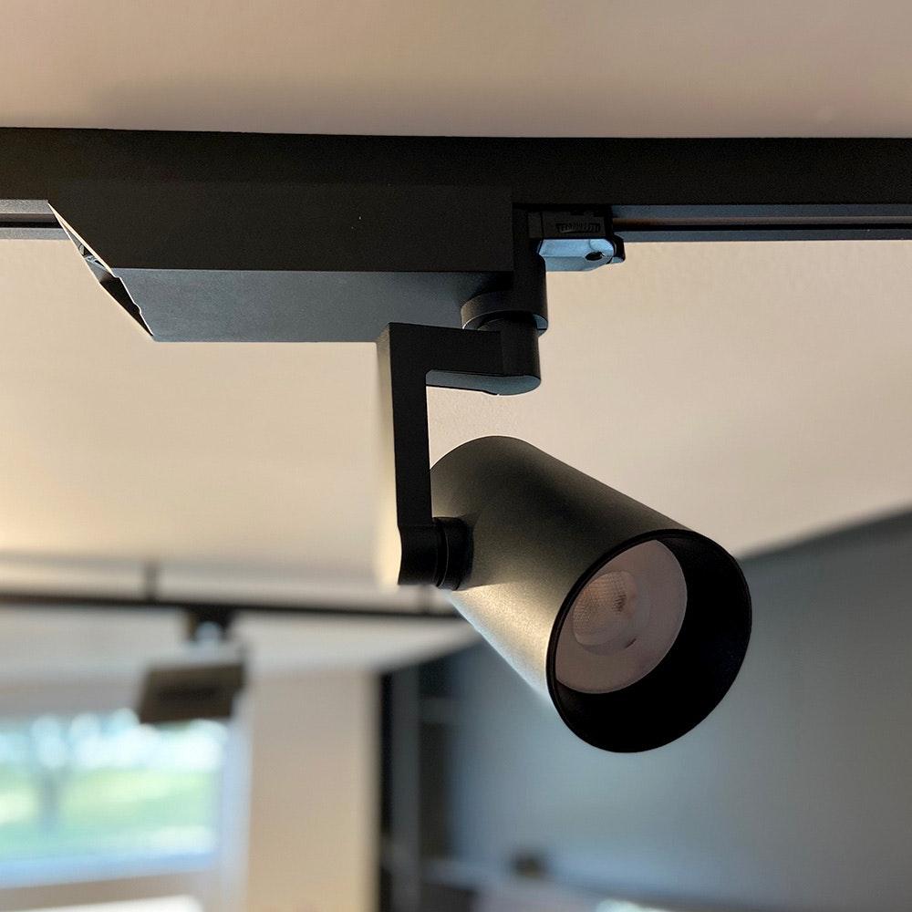 Golo 3-Phasen Power-LED Schienenstrahler 2500lm CRI>90 36°  2