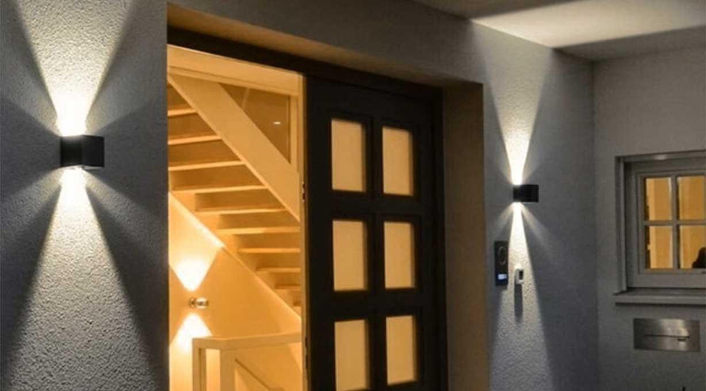 IXA Wandleuchte Fassadenleuchte Außenbereich Eingang