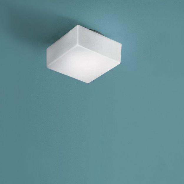 Nemo Quadra Glas Wand- & Deckenlampe Würfel 2