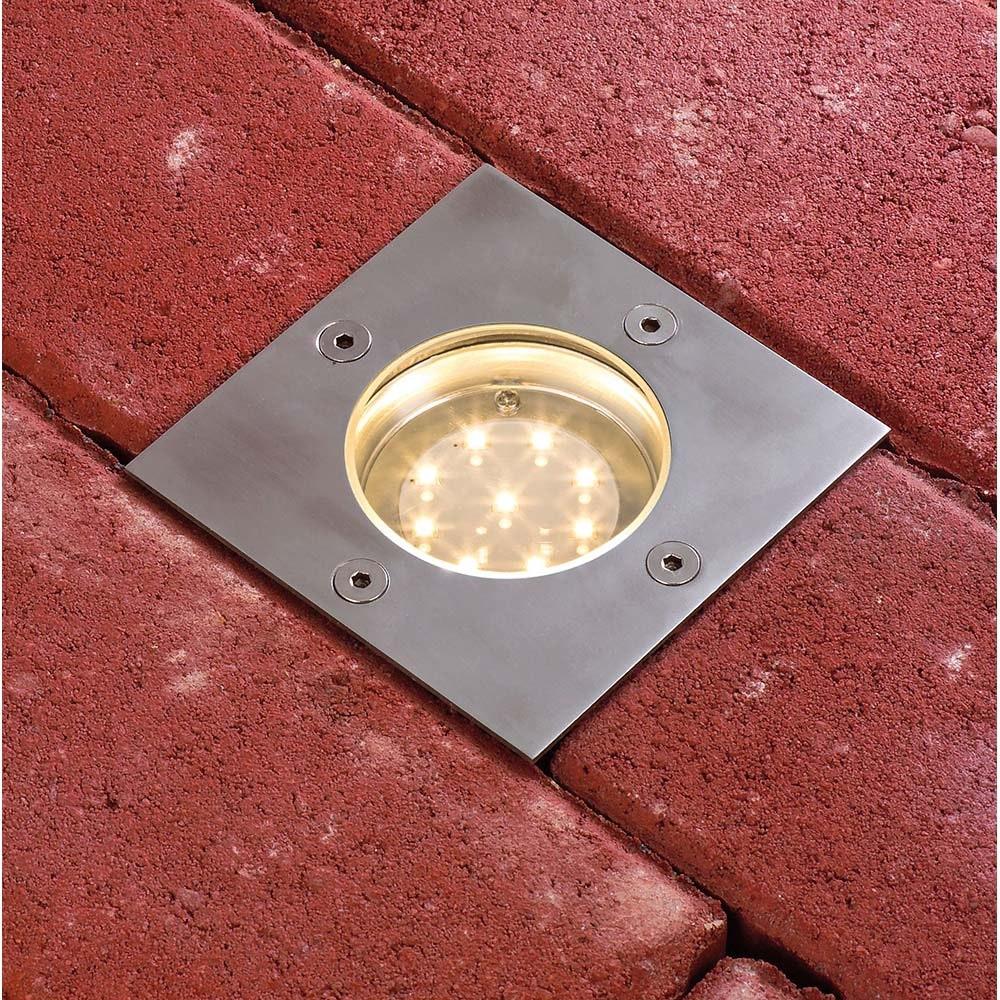 LED Plug & Shine Bodeneinbaulampe eckig IP65 3000K thumbnail 5