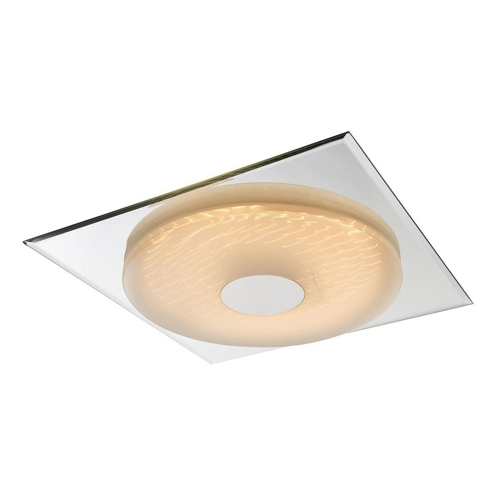Treviso I Deckenleuchte LED quadratisch, 3D-Effektfolie, 3000K-4500K-6000K, dimmbar 2000lm 1