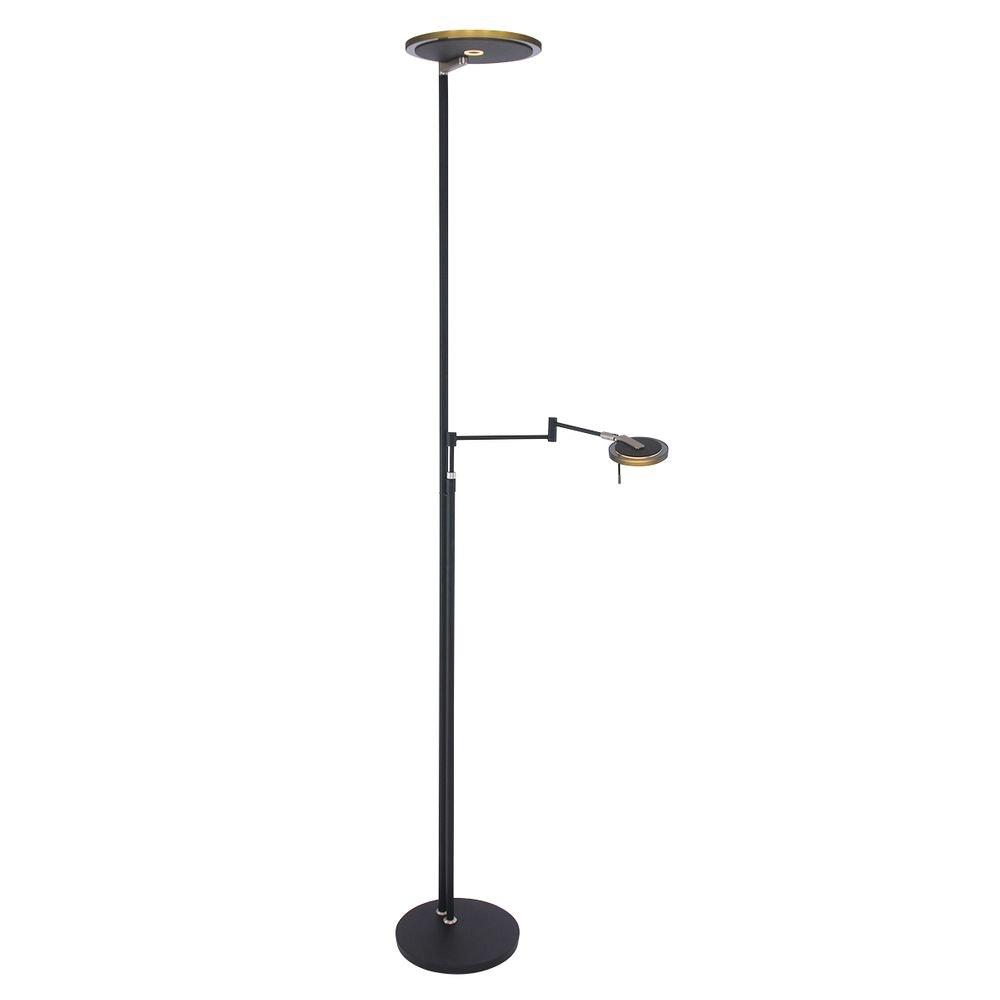 Steinhauer LED-Deckenfluter Turound LED mit Lesearm Tastdimmer 2700K thumbnail 3