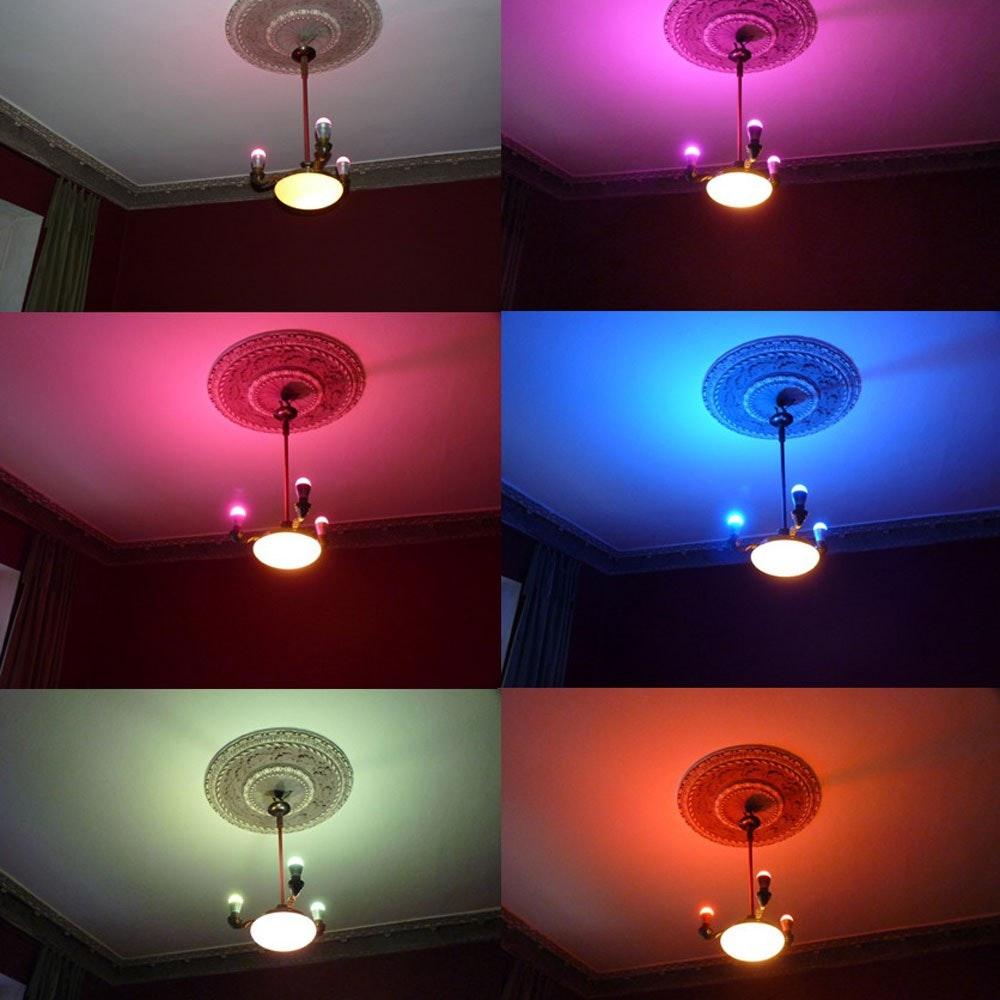 s.LUCE iLight Fernbedienung für Leuchtmittel & Strip RGBW 7