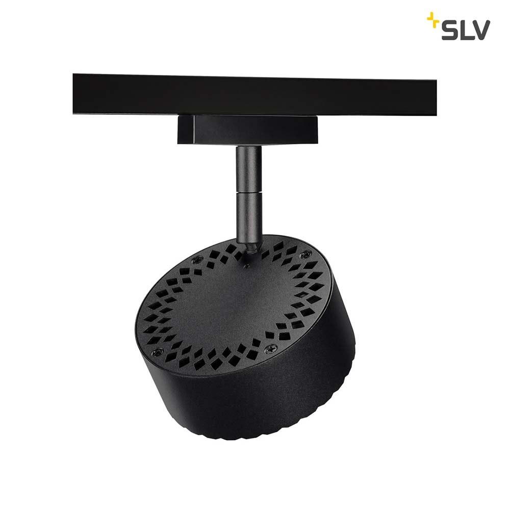 SLV Tothee LED Strahler für 2Phasen-Stromschiene 3000K Schwarz 50° 4