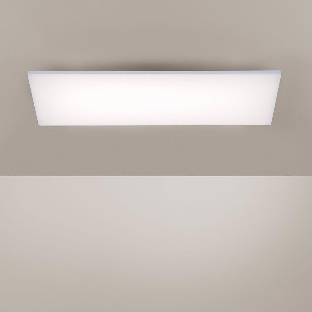 Q-Flat 2.0 rahmenlose LED Deckenlampe 60 x 30cm RGBW + FB Weiß 7