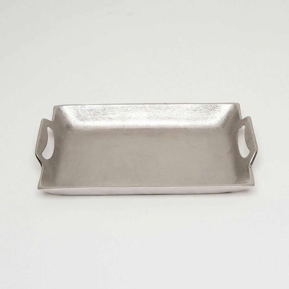 Tablett Domestica Klein Aluminium Silber 2