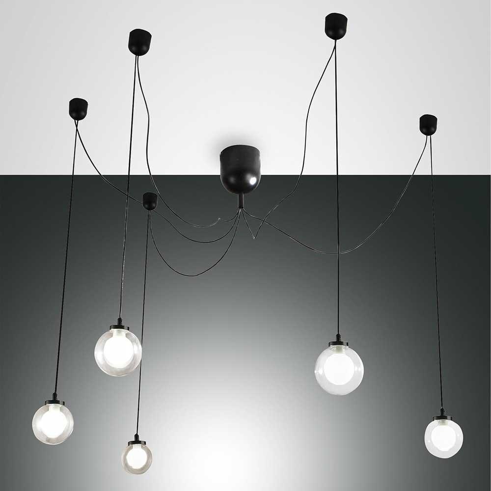 Fabas Luce LED Pendellampe Blog aus Metall 3