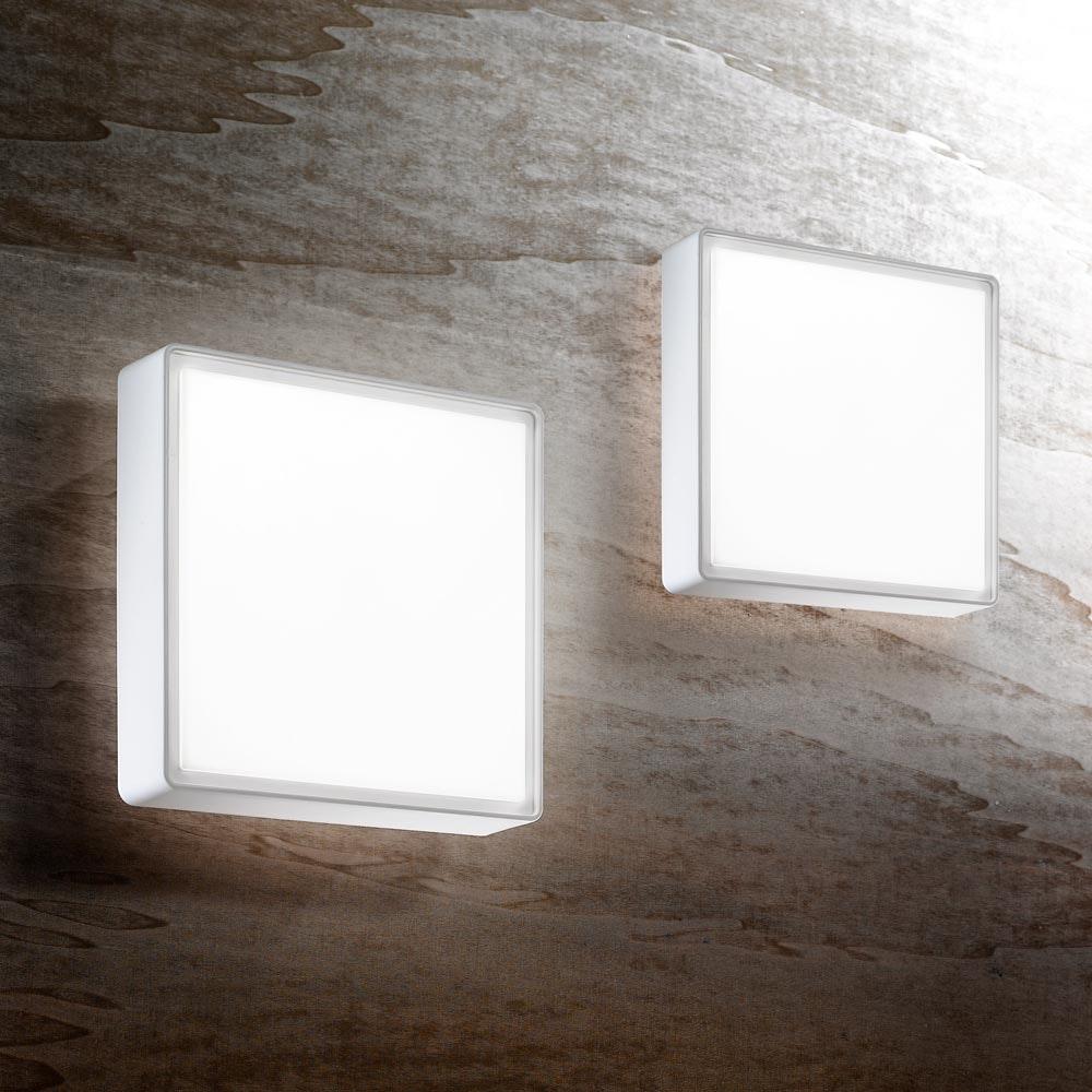 Fabas Luce Oban Deckenleuchte LED 27W Warmweiß 3000K 30cm 2