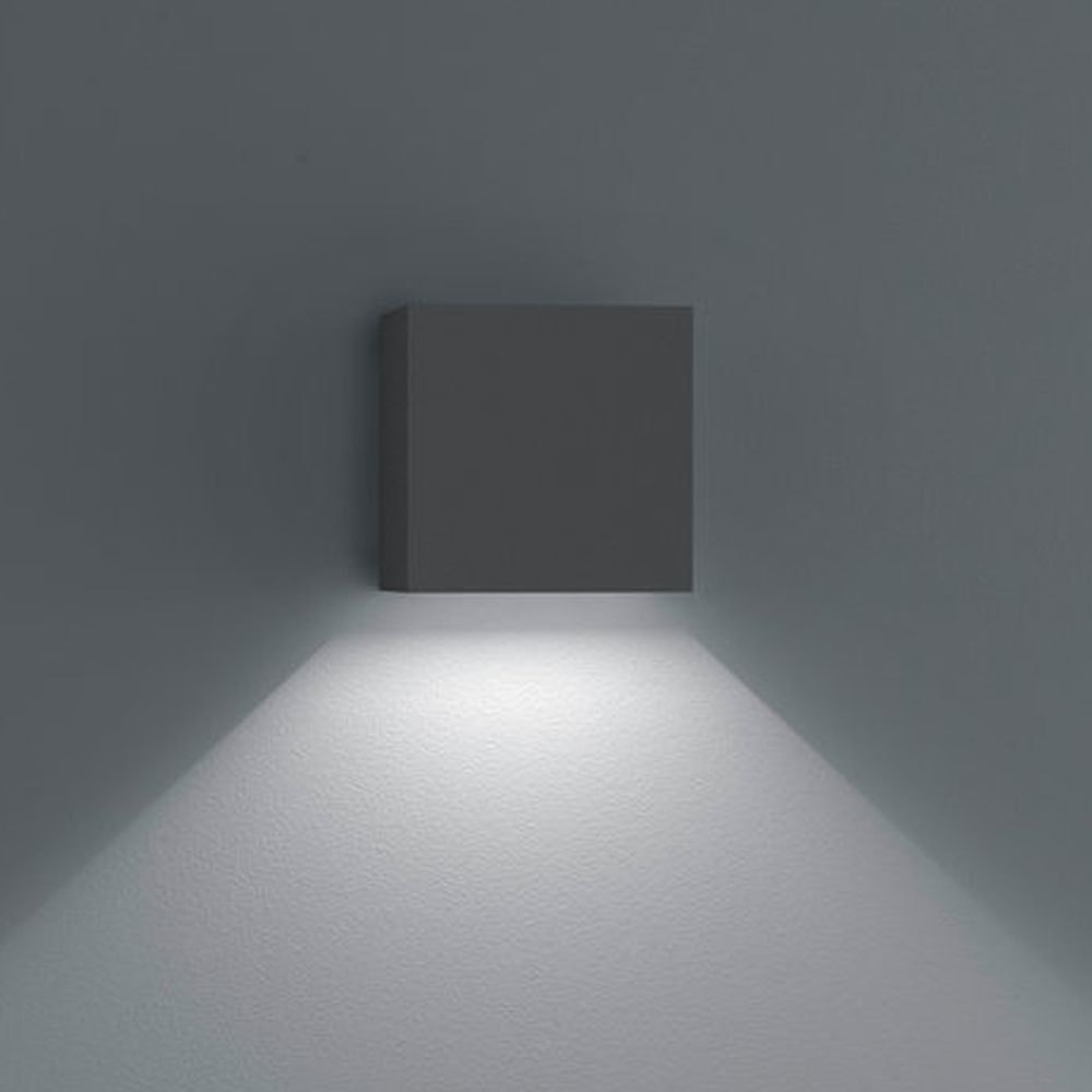 Helestra LED Außen-Wandlampe Siri 44-L Graphit