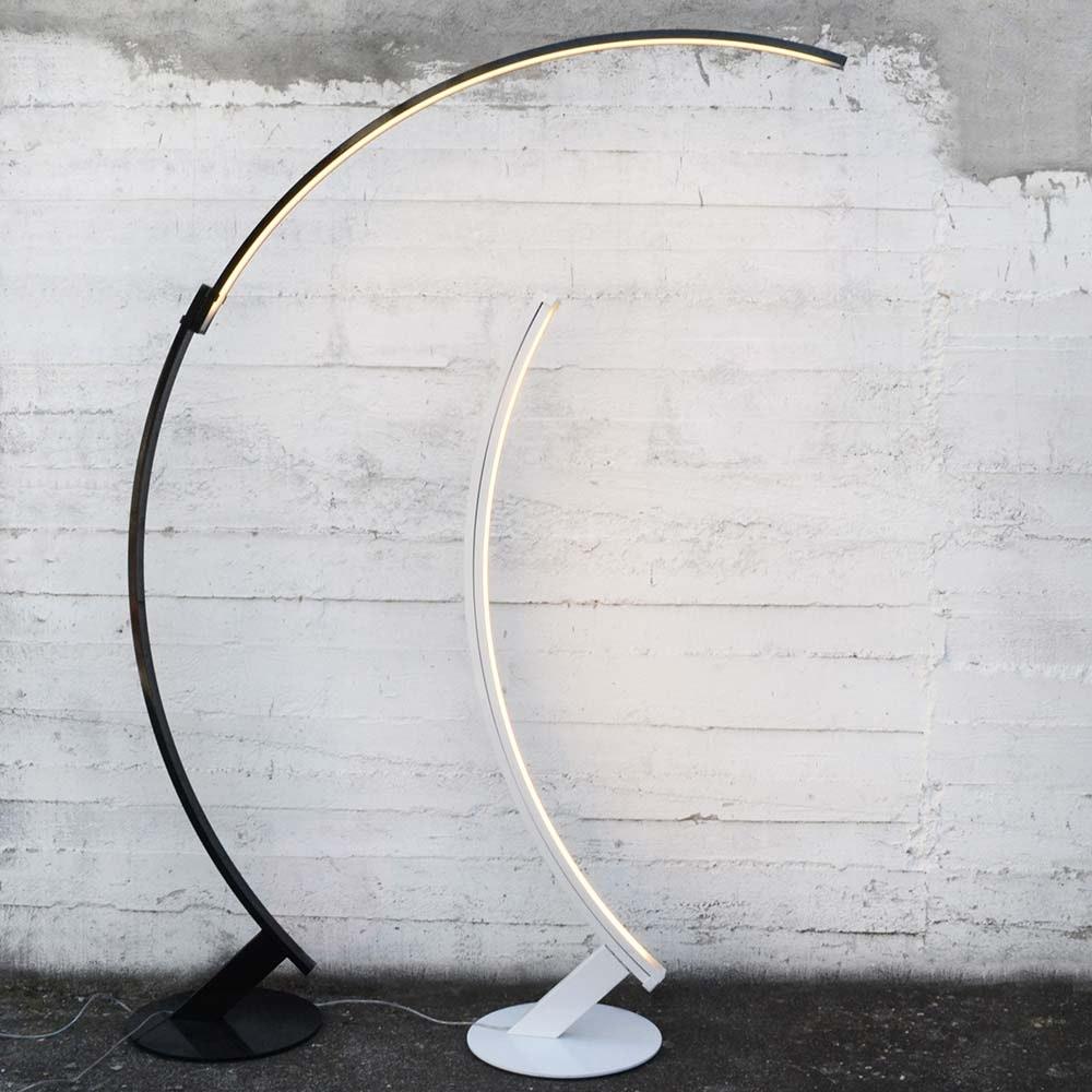 Kundalini LED Bogen-Stehlampe Kyudo Dimmbar 10