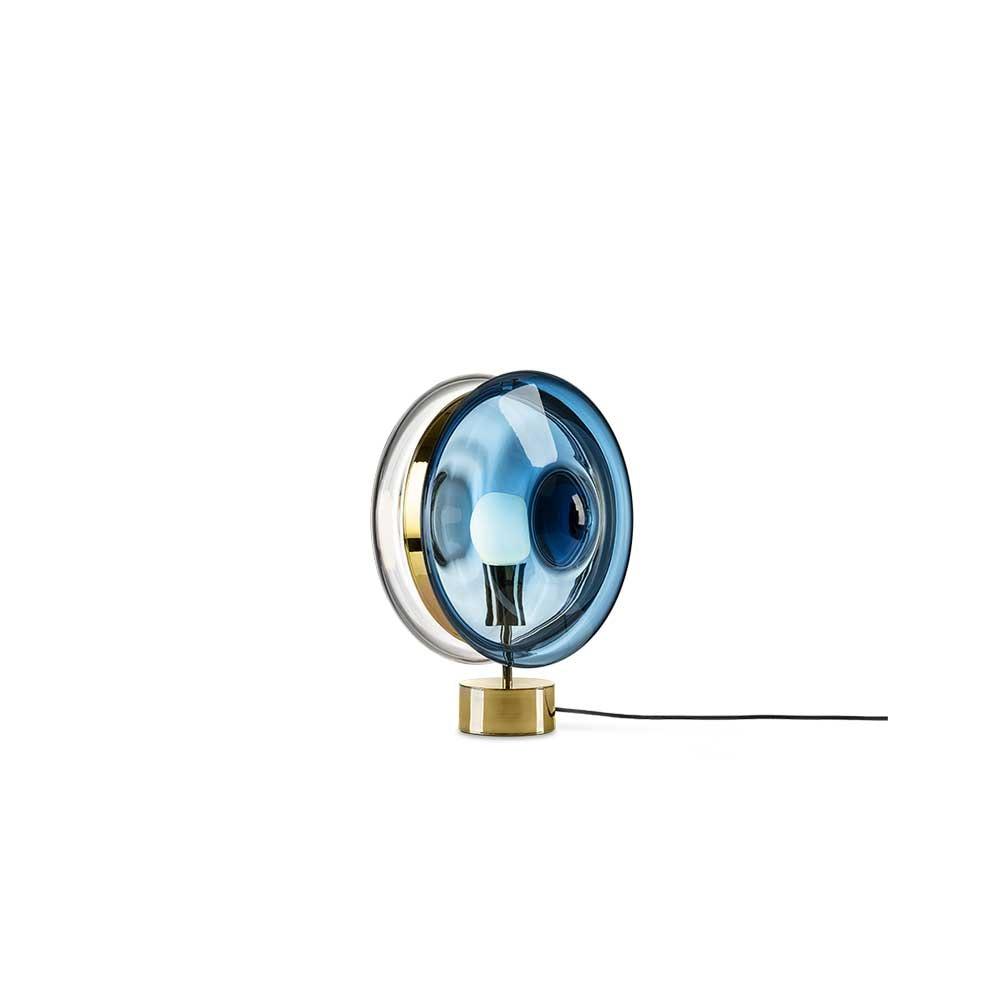 Bomma Glas-Tischlampe Orbital Ø 36cm 3
