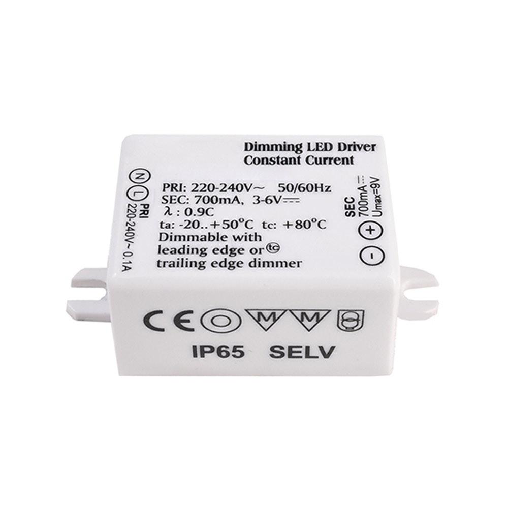 LED-Treiber dimmbar 700mA mit 4W für Steps Stufenleuchte