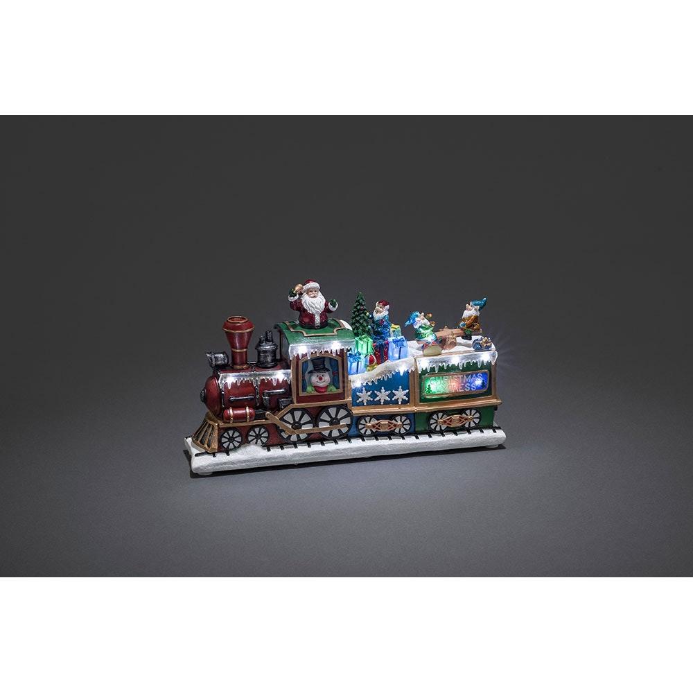 LED Weihnachts-Express Animation Weihnachtsliedern batteriebetrieben 2