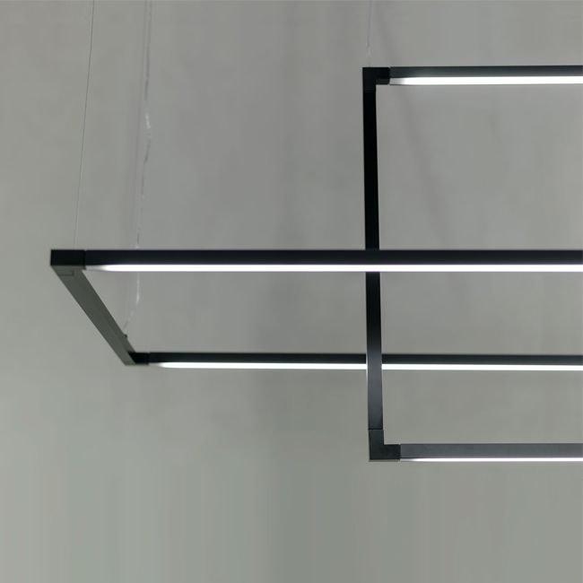 Nemo Spigolo Vertical LED Hängelampe 114x58cm  thumbnail 6