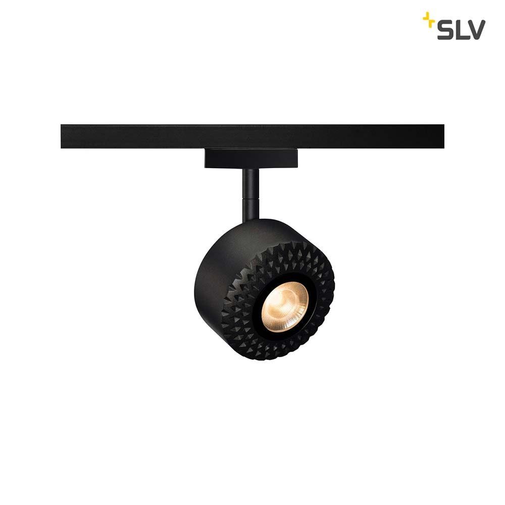 SLV Tothee LED Strahler für 2Phasen-Stromschiene 3000K Schwarz 50° 1