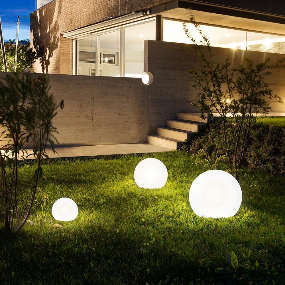 Bolla XL Garten Aussenkugel Ø 60cm Weiß 2