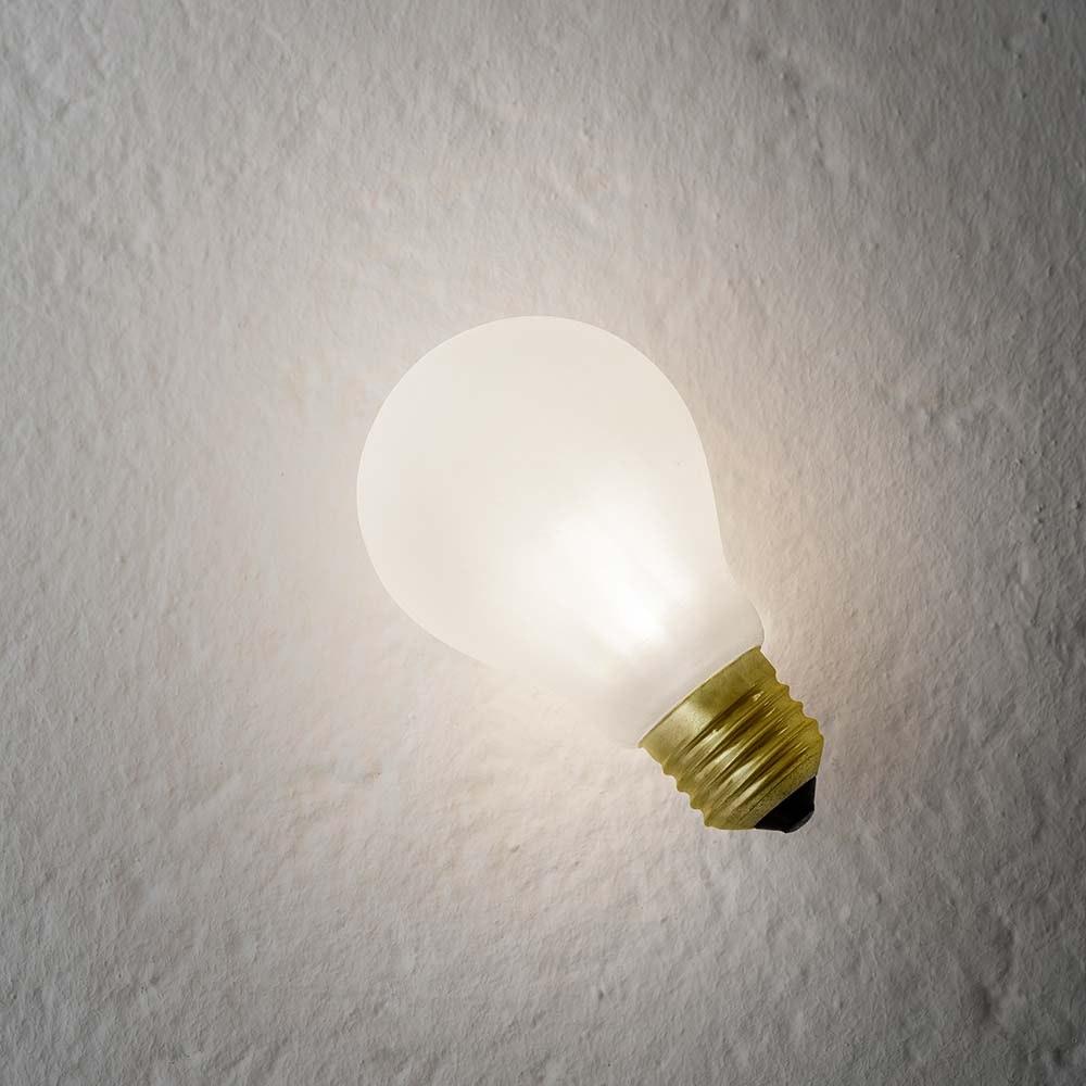 Slamp Einbau-Wandlampe Glühbirne Idea Applique Weiß thumbnail 3